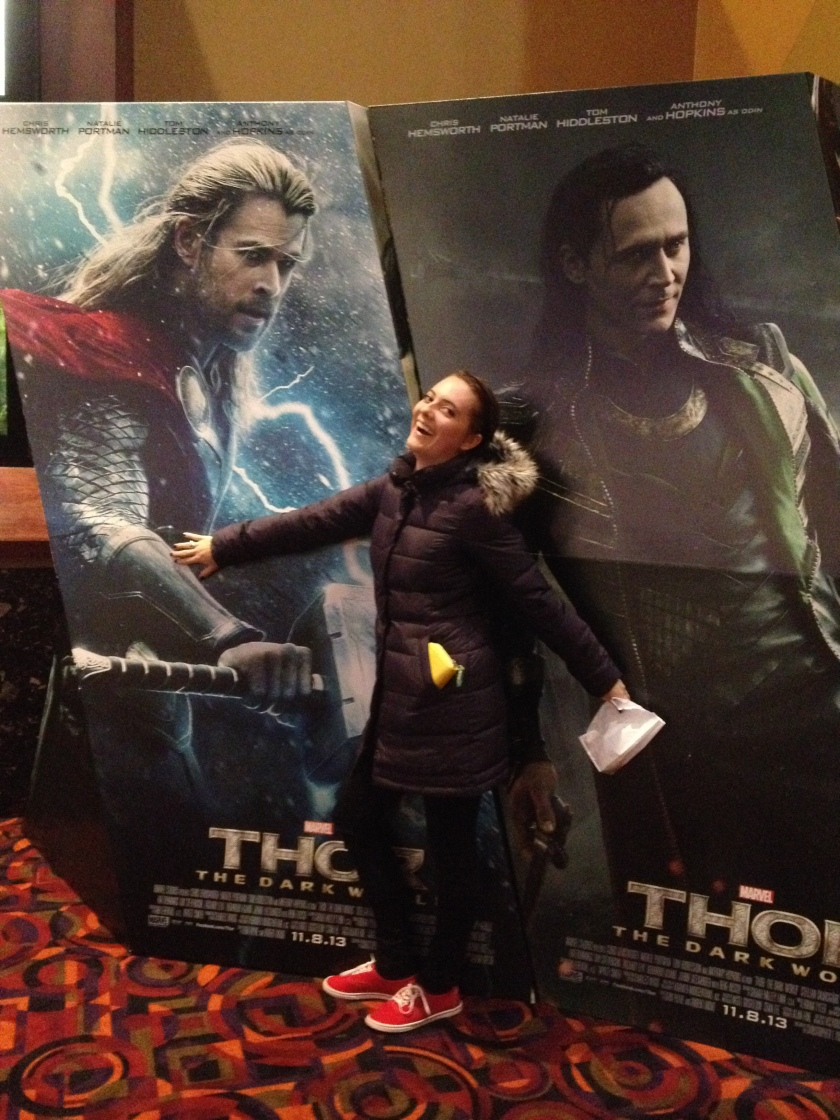 I saw Thor: The Dark World last night and it was great.